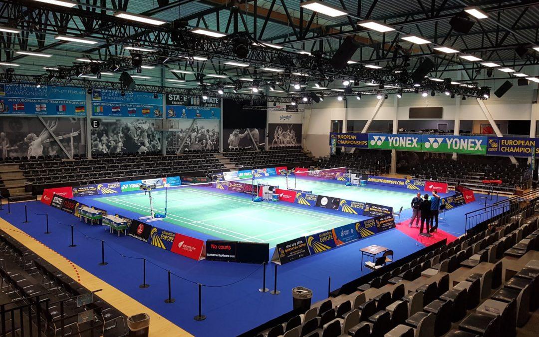 Frederiksberghallerne danner rammen for EM i Badminton