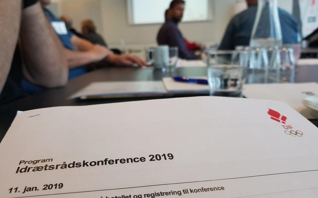 FIU til idrætsrådskonference