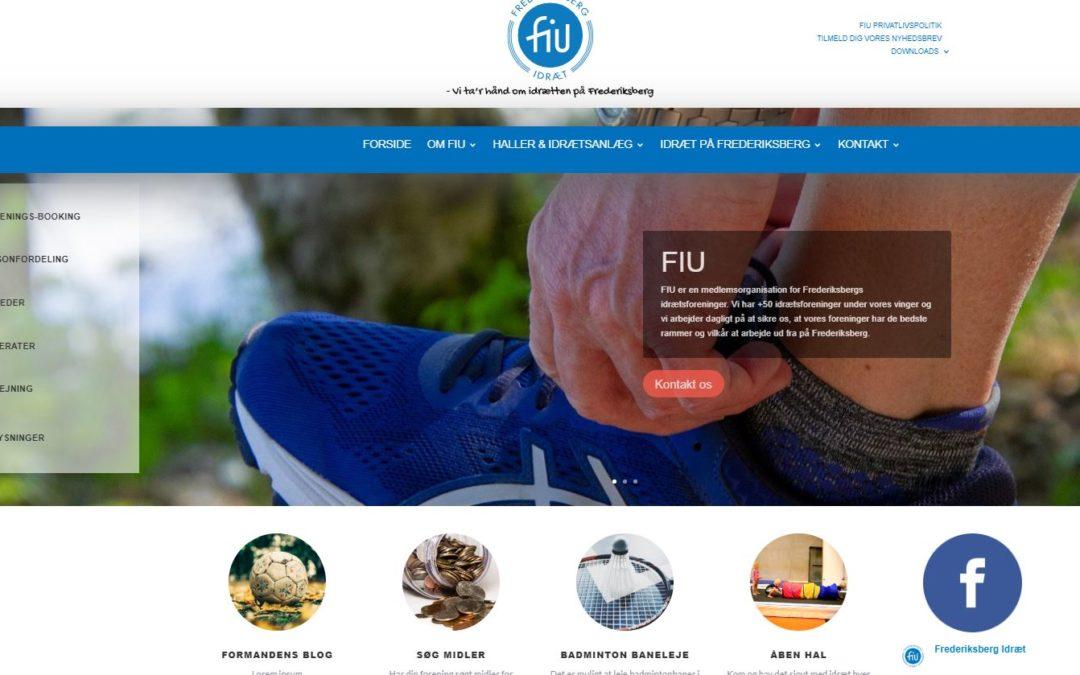 FIU går i luften med ny hjemmeside