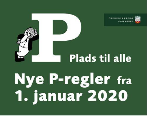 Ændrede parkeringsregler på Frederiksberg pr. 1. januar 2020
