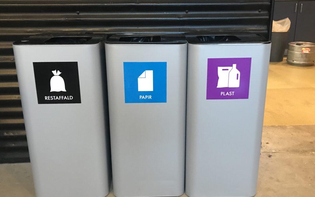 Affaldsortering bliver snart virkelighed på FIUs anlæg