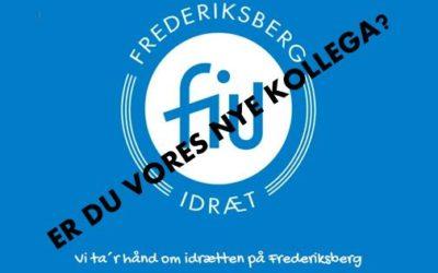 Ny medarbejder til FIUs administration søges….